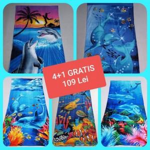 Set 4+1 Prosop Plaja Bumbac 100% PP18